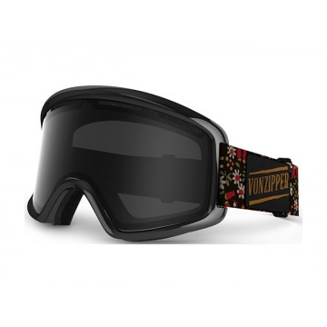 Von Zipper Beefy Goggles DITZY BLACK / BLACK CHROME