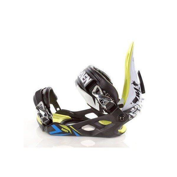Wiązania Raven s380 Black/Green/Blue