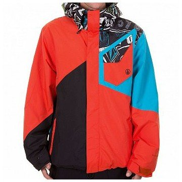Kurtka Volcom Versed Red 14/15 L