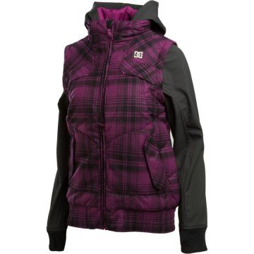 Kurtka DC Holly Purple/Black S