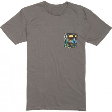 Koszulka Lib Tech Travis Pocket Tee Grey