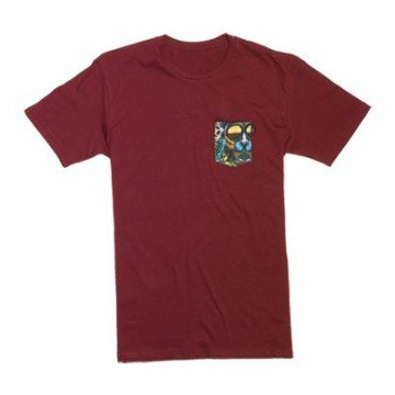 Koszulka Lib Tech Travis Pocket Tee Red