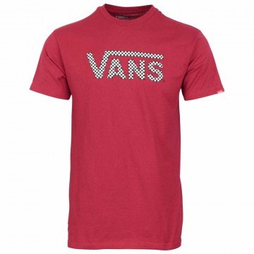 T-shirt Vans Classic Fill Cardinal Red