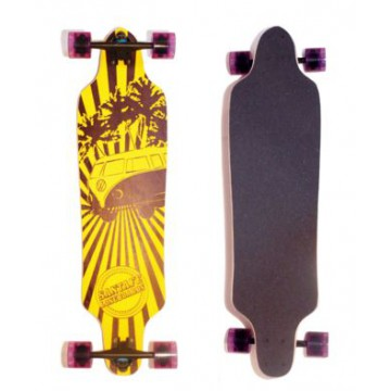 Longboard SantaFe City Cruiser