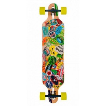 Longboard Miller Travel Sticker 38