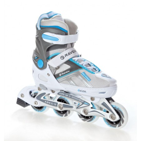 Rolki Raven Pulse White/Blue