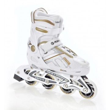Rolki Raven Pulse White/Gold