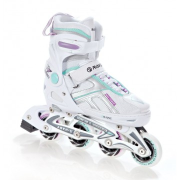 Rolki Raven Pulse White/Blue/Violet