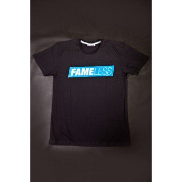 Koszulka Fameless Box Logo Black/Blue