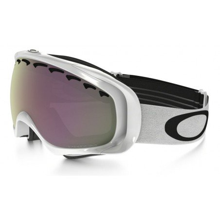 Gogle Oakley Crowbar Polished White Prizm Hi Pink Iridium