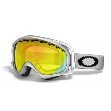 Gogle Oakley Crowbar Snow Matte White Fire
