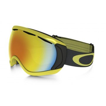 Gogle Oakley Canopy Citrus Iron W/Fire Iridium