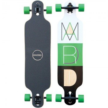 Longboard Madrid Drop Thru Trans Cutout 2