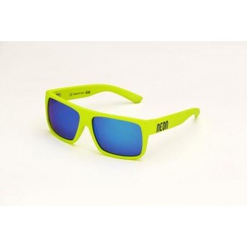 Okulary NEON-RIDE YELLOW FLUO-BLUE CAT 3