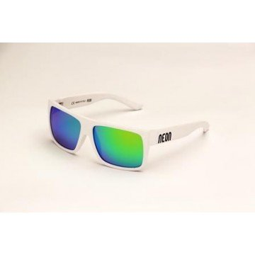 Okulary RIDE-WHITE-GREEN CAT 3