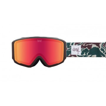 Gogle Tripout Optics Blaze (Camo, Orange Fire)