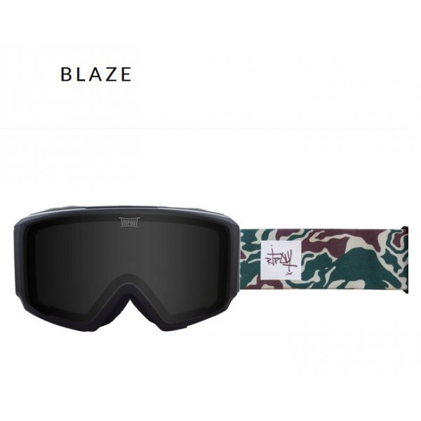 Gogle Tripout Optics Blaze (Black Hyped, Black Polarized) + Foggy