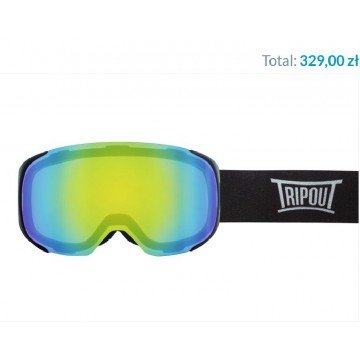 Gogle Tripout Optics Steez Mint Mirrored + Szyba Clear