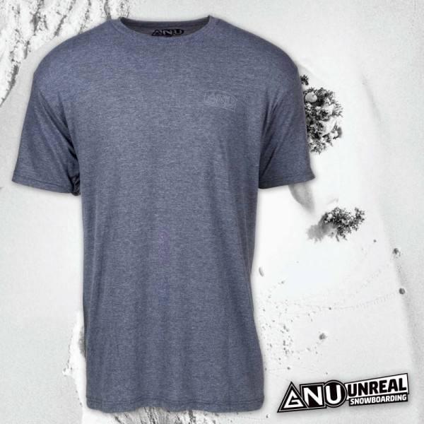 Koszulka GNU Handbuilt Tee Charcoal