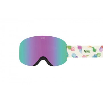 Gogle Tripout Optics Racer Purple Pineapple