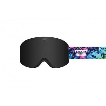 Gogle Tripout Optics Racer Black + Szyba Clear