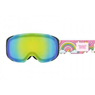 Gogle Tripout Optics Steez Mint Mirrored + Szyba Foggy
