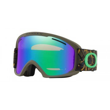 Gogle Oakley O Frame 2.0 XL Camo Vine jungle/ Jade & Persimmon