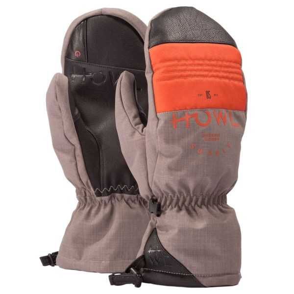 Rękawice snowboardowe Howl Team Mitt Orange