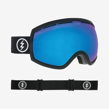 Gogle Electric EG2 Mate Black Brose/Blue Chrome