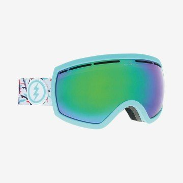 Gogle Electric EG2,5 Forest Brose/ Green Chrome