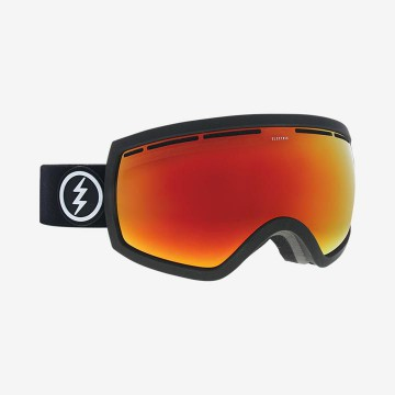 Gogle Electric EG2,5 Matte Black Brose/Red Chrome