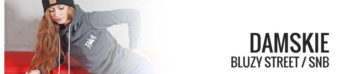 Bluzy street damskie / odzież hip-hop damska