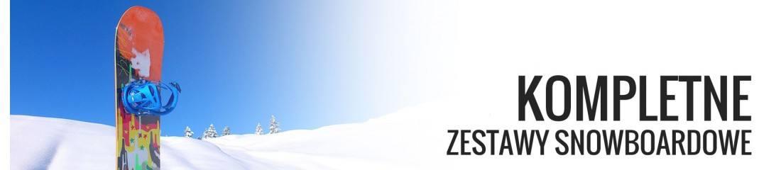 Zestawy snowboardowe: deska i wiązania - sklep Snow4Life
