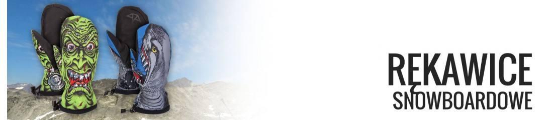 Rękawice snowboardowe damskie - sklep internetowy