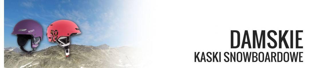 Kaski snowboardowe damskie / sklep internetowy Snow4Life